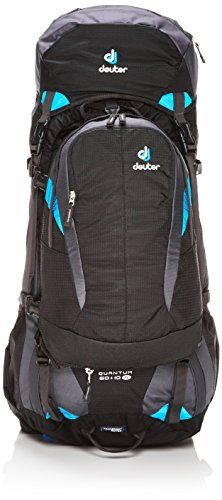 Deuter Quantum 60  10 SL Travel Backpack blackturquoise ** Click image to review more details.Note:It is affiliate link to Amazon.