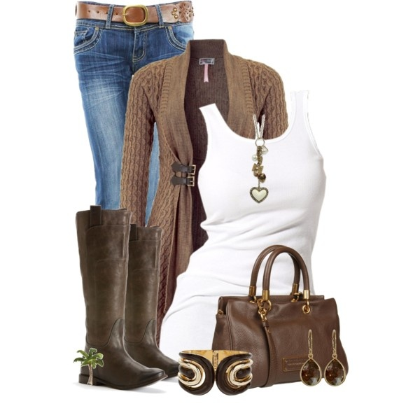 """""""Boots and Tank"""" by cindycook10 on Polyvore"""