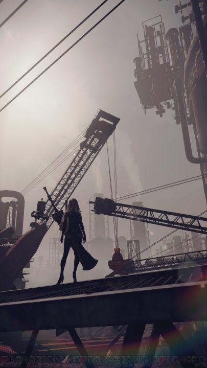 『NieR:Automata』の最新ビジュアル&コンセプトアートが大量到着! 9S・A2が戦う姿も