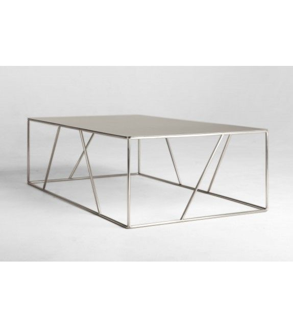 Table basse ARCHITECTURA inox