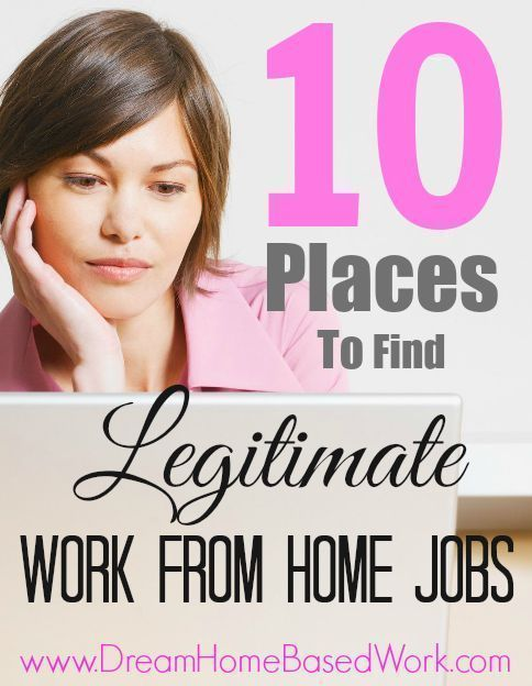 how to find real jobs to work from home