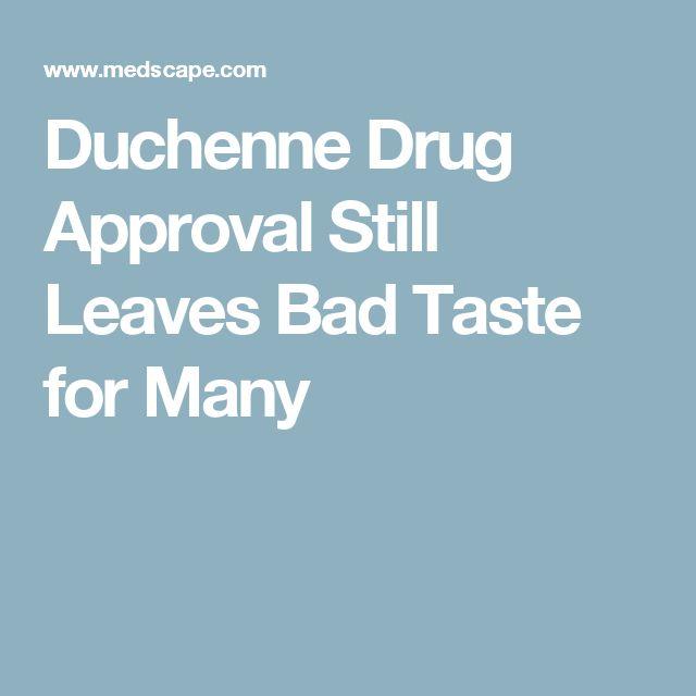 Duchenne Drug Approval Still Leaves Bad Taste for Many