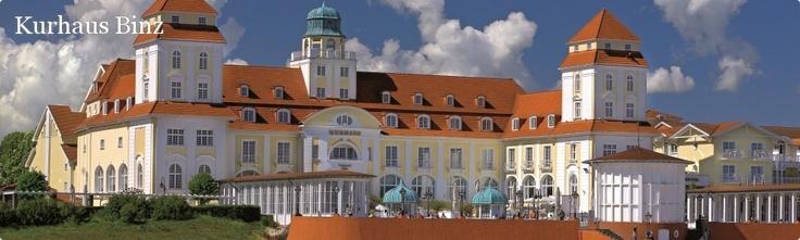 Travel Charme Kurhaus Binz - Grandhotel auf der Insel Rügen, Ostsee.