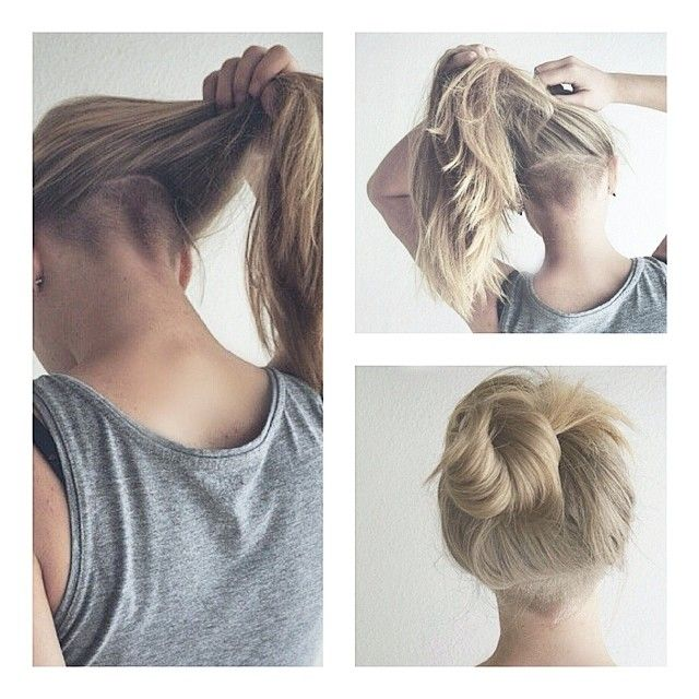 undercut long hair woman - Iskanje Google