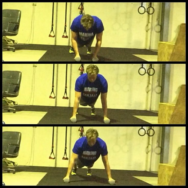 Narrow to wide stance Push-Up. #pushupproject365 #rawfast