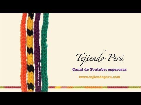 Icord o cordón tubular tejido a crochet - YouTube