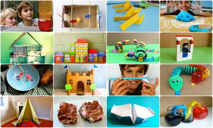 Moet een aantal indoor activiteit ideeën om uw kinderen bezig te houden als het buiten warm is?  Deze enorme lijst met ideeën zal vermaken voor uren met koken, papier ambachtelijke, wetenschappelijke experimenten en nog veel meer.