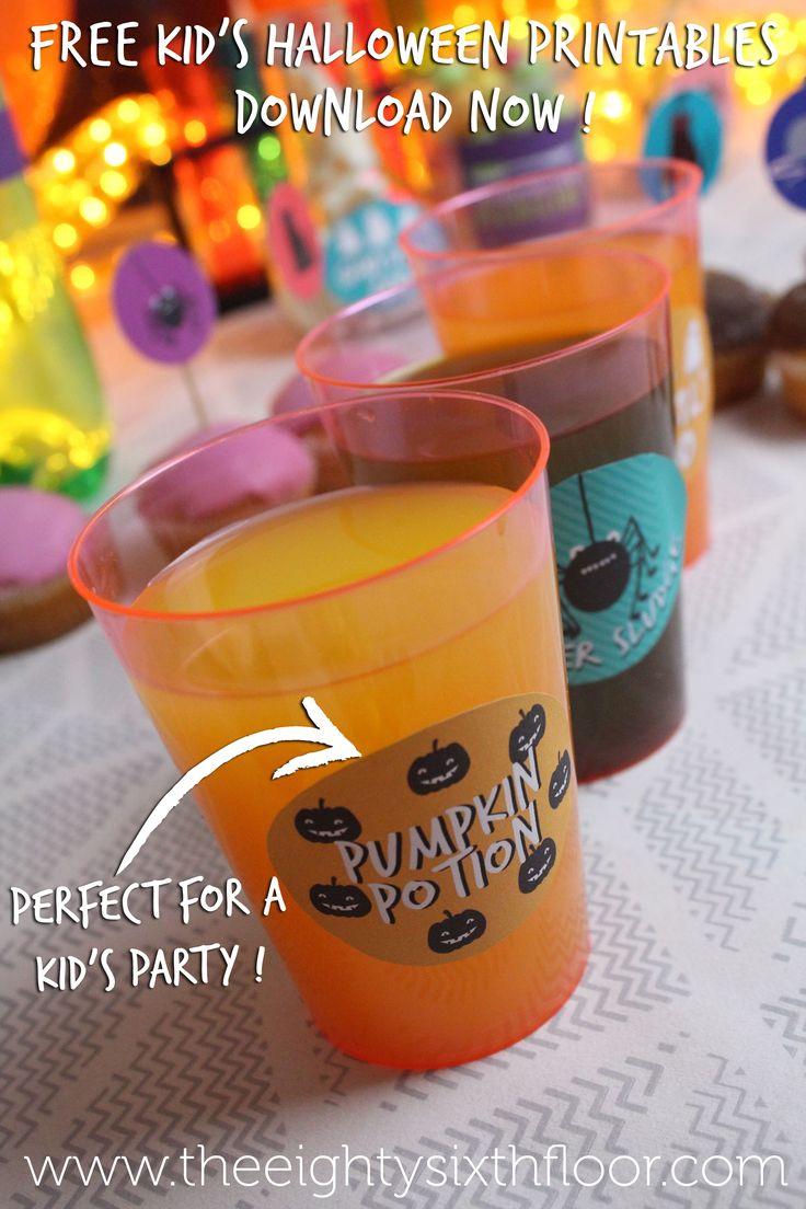 how to make party labels