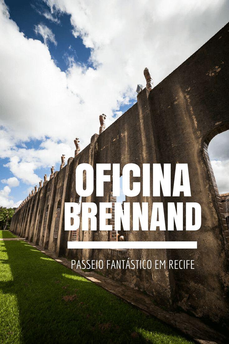 Visite a fantástica Oficina Brennand em Recife e conheça o fantástico mundo de Francisco Brennand, um dos grandes artistas brasileiros.