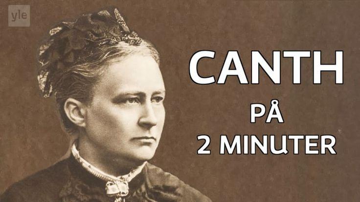 Journalisten och författaren Minna Canth var en viktig samhällspåverkare som lyfte fram arbetarnas och kvinnornas ställning. Hon kallas för den finländska feminismens moder. Den 19 mars firar vi henne, dagen är också den officiella dagen för jämställdhet.