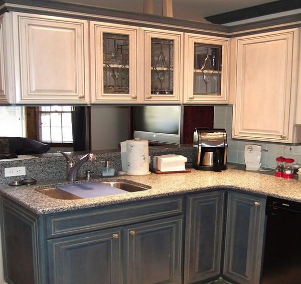 Kitchen Remodel Of Silestone Kitchen Countertop For The