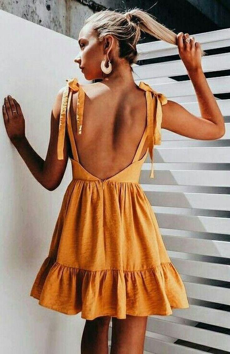 Gorgeous 30 Stylish Dress Ideas For Summer Fashion Clothes Cozy Dress [ 1130 x 736 Pixel ]