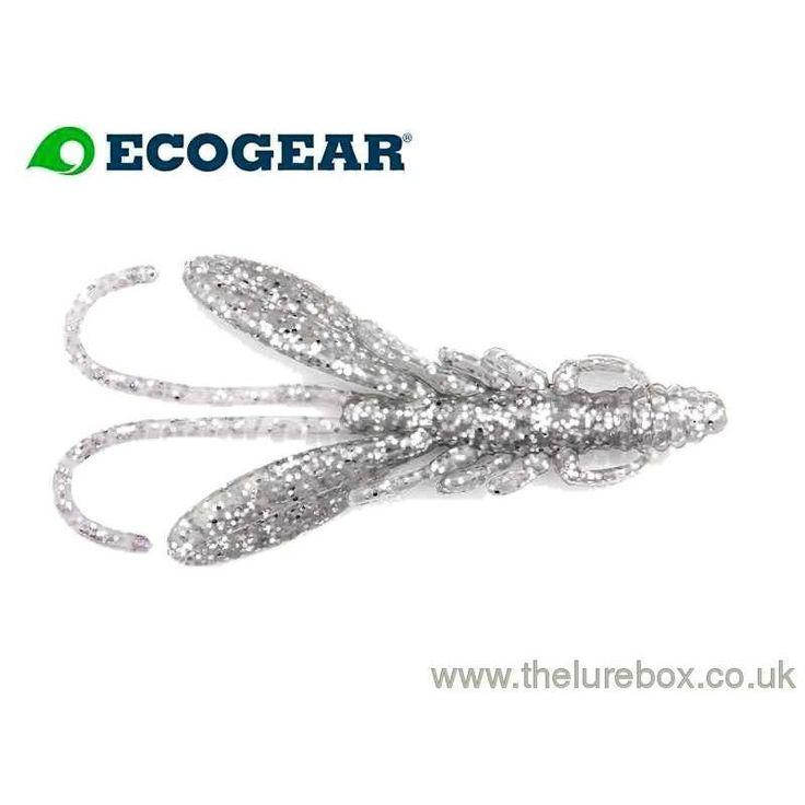 "Ecogear Bug Ants 2"" Sirauo (glow Ice)"