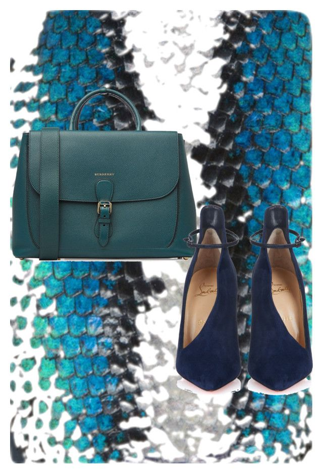 """""""Fashion by Stela Ciko"""" by stela-ciko on Polyvore featuring Burberry and Christian Louboutin"""
