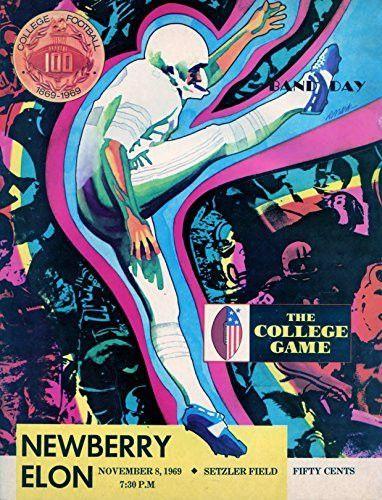 November 8, 1969 - Newberry Indians vs Elon College Phoenix College Football Program