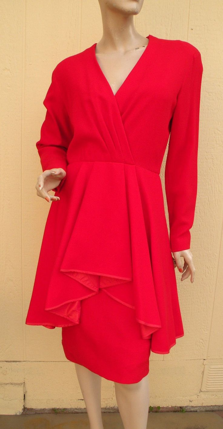 Spring/Summer Clearance Dress Sale  / Retro Neiman Marcus Red Dress / Never Worn / Valentine / Simply Gorgeous by Prettyagedthings on Etsy