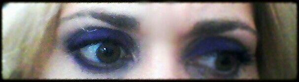 #Eyeliner viola #wjcon