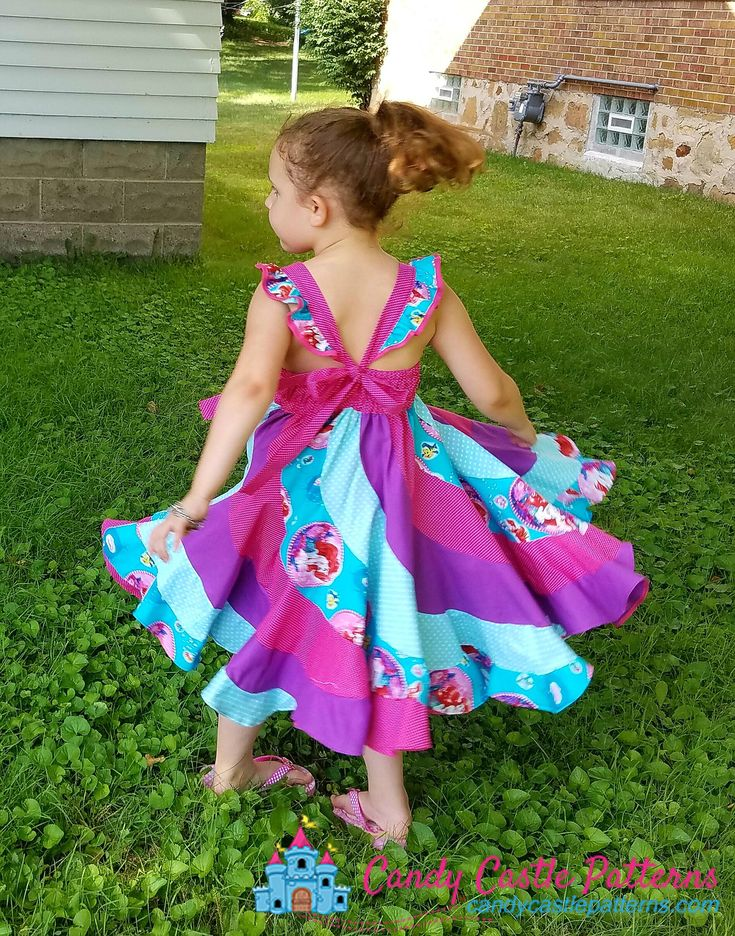 Click HERE to go to the free download immediately! Are you ready to get creative? The ever so popular Peppermint Swirl Dress PDF Pattern has been us...
