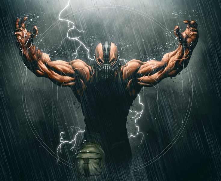 Bane fanart Batman Rises by ~16siddhartha