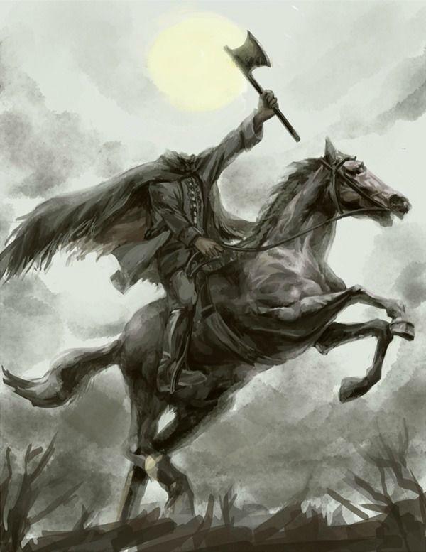 Halloween headless horseman quotes quotesgram - Pictures of the headless horseman ...