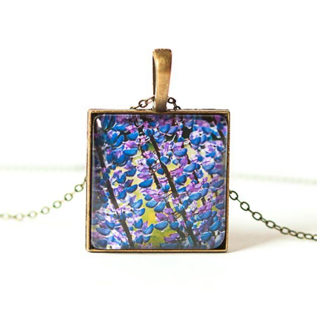 Naszyjnik z łubinem / Necklace - Art-Of-Nature
