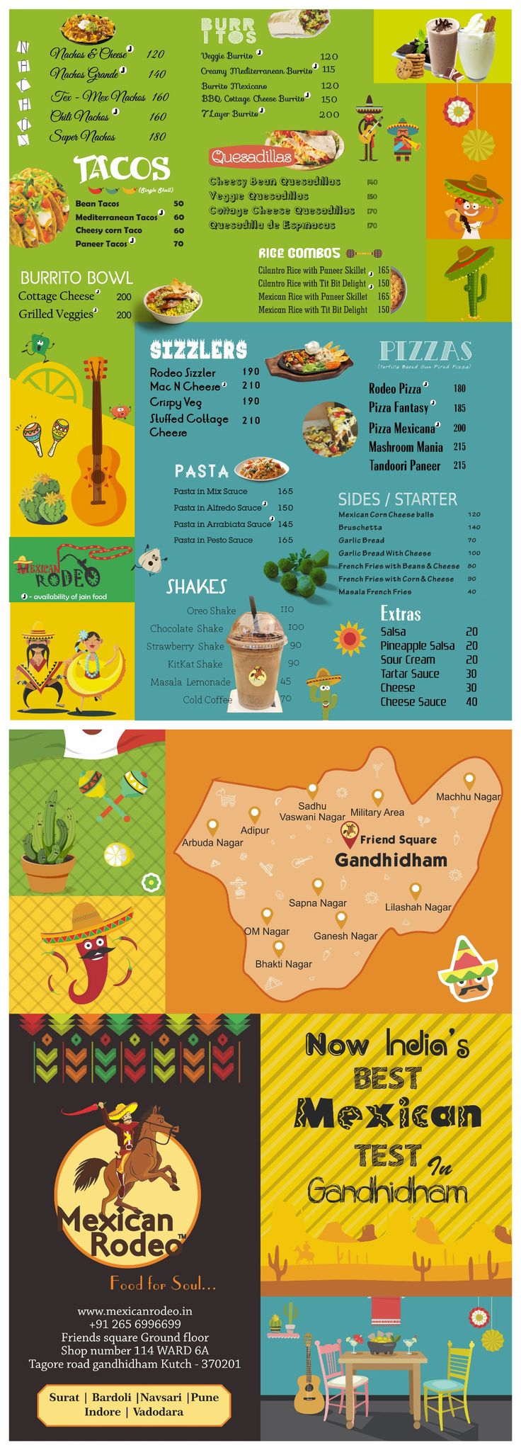 #leaflet #Mexican #rodeo #new-outlet #design #foods #FoodMenu