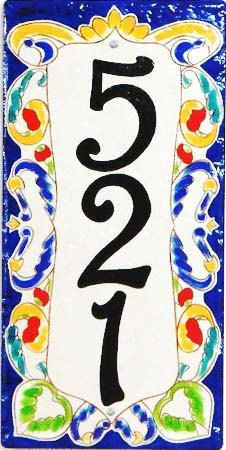 This vertical 8x16 Jaw-dropping house number plaque is hand painted on a heavy quality, off white porcelain plaque which is perfection for the coldest of weather.  The vibrant colors are an easy way to energize your entryway or garden for your guests. Now you have a perfect excuse to add multi colored flowers, wall decor and accessories.  Ive used 15 different vivid and bold colors to achieve this stunning house number plaque design. A maximum of three 4 black numbers can be painted on this…