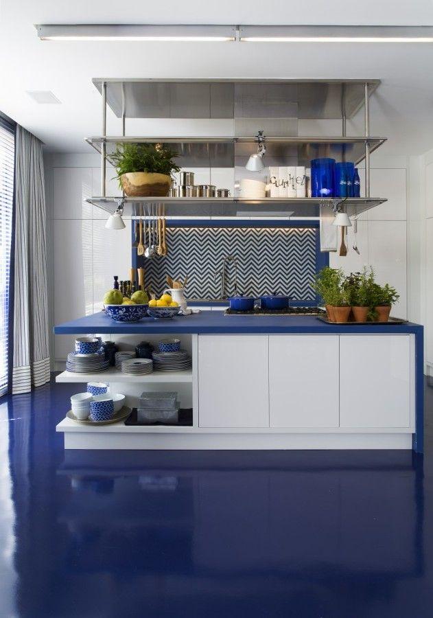 Porcelanato líquido: o poderoso piso sem rejuntes nem emendas #hogarhabitissimo