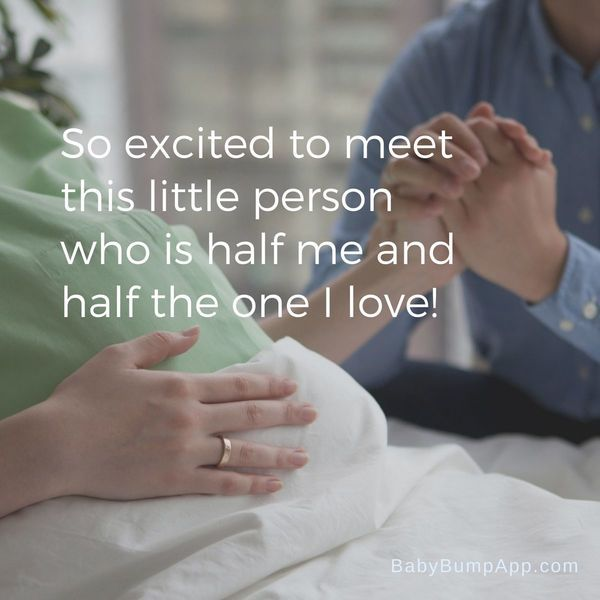 expectant dad is waiting to meet his baby quotes