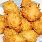 mmmm... Corn Fritters... I haven't had these in forever!!! they must go on the menu for next week!!!