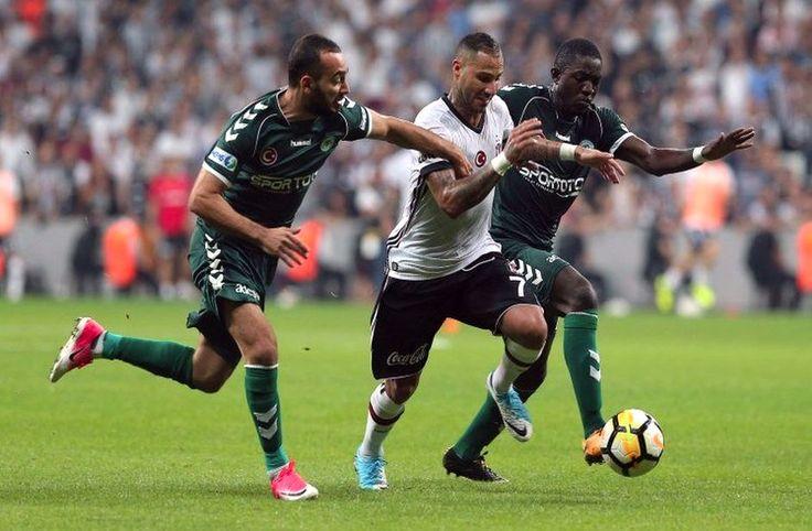 Quaresma şov yaptı Beşiktaş kazandı - Süper Lig'in 5. hafta mücadelesinde Beşiktaş sahasında Konyaspor'u 2-0 yenerek haftayı kayıpsız kapattı.  10. dakikada Caner Erkin'in ortasında Cenk Tosun topu kafayla filelere gönderdi 1-0.  66. dakikada Quaresma iki Konyaspor'lu oyuncunun adeta içinden geçerek sert bir vuruşla kaleci Serkan - http://bit.ly/2hd1Jk6
