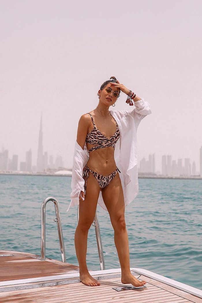 TENDÊNCIA - BIQUINIS | Animal print swimsuit, Leopard print bikini