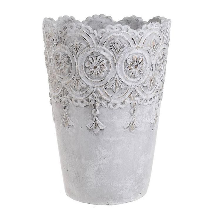 Ceramic Flower Pot - Pots - DECORATIONS - inart