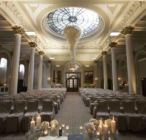 Edinburgh Scotland Wedding Venue | The George Hotel | Principal Hayley / Planet Flowers
