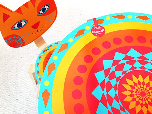 Stunning tables and chairs for kids at Babyboo Stand R32