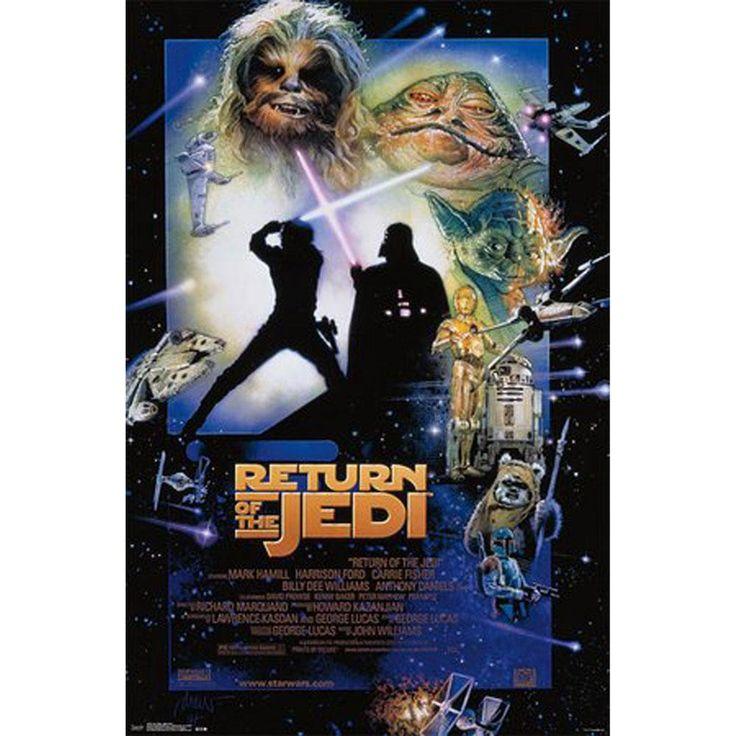 Star Wars - Episode VI 22x34 Standard Wall Art Poster