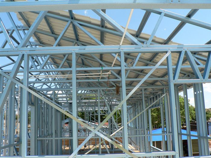 Clotan Steel Pre Engineered Steel Frame Buildings Lsf