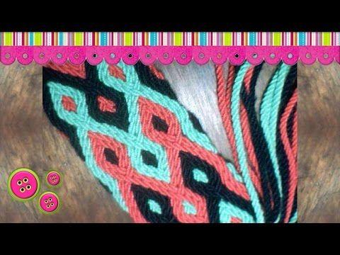 Gasa Wayuu 32 cordones - YouTube