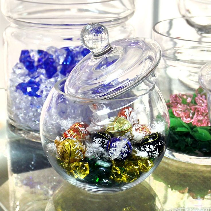 Glass Vases Wholesale | Apothecary Jar | Plant Terrarium | Apothecary Jar, 8 inch tall, Candy Buffet Jars Wholesale