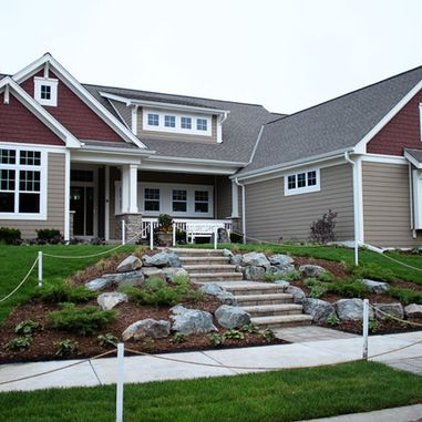 Delightful I Like The Two Different Colors · Craftsman Exterior ColorsExterior Paint  ColorsExterior ...