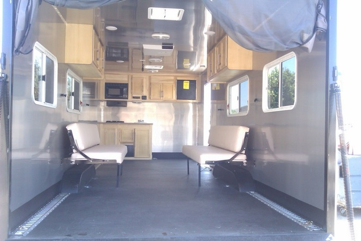 1000 Ideas About Enclosed Bed On Pinterest: 24 Custom Enclosed Trailer With Stainless Steel Walls