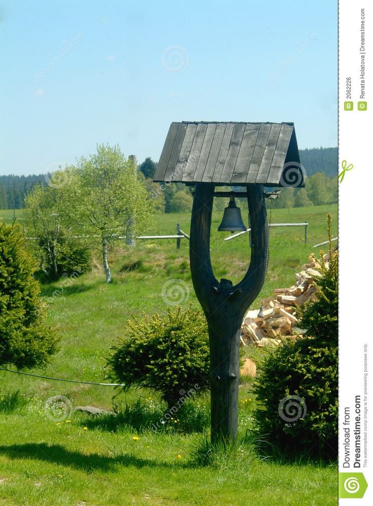 Small Bell Tower In Bohemia Country Backyards Backyard