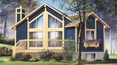 HousePlans.com 25-4193: Tiny House, Plan 25 4193, Dream, Contemporary Houses, Houseplans Com, Small House, Bedrooms, Bathroom, Contemporary House Plans