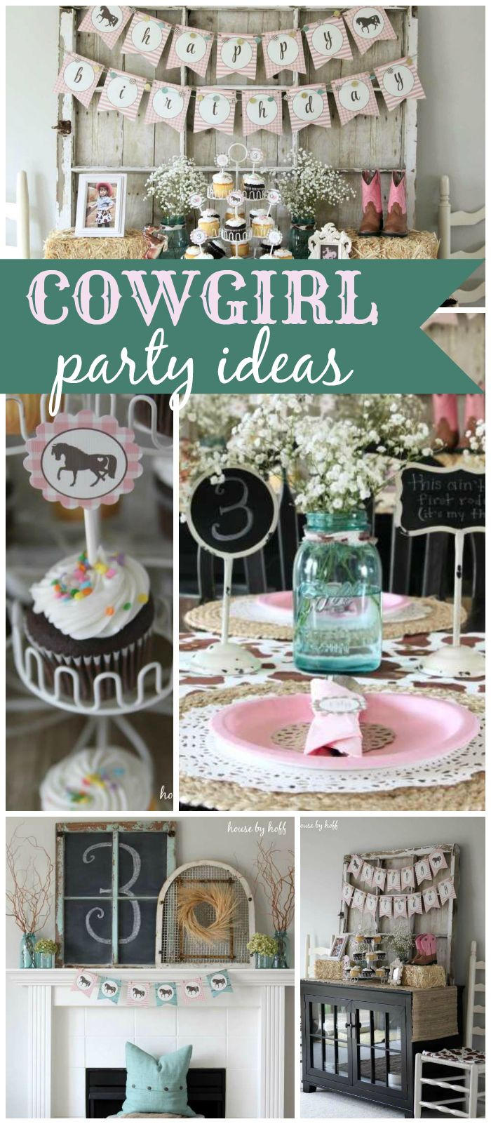 Here's an amazing cowgirl party that you just have to see! See more party ideas at CatchMyParty.com!
