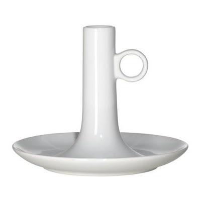 """Ljusstake - """"Björkefall"""", Vit från IKEA"""