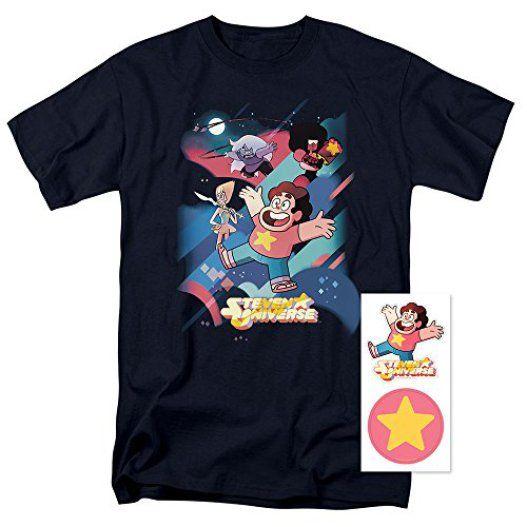 Steven-Universe-Gems-Cartoon-Network-T-Shirt-Exclusive-Stickers