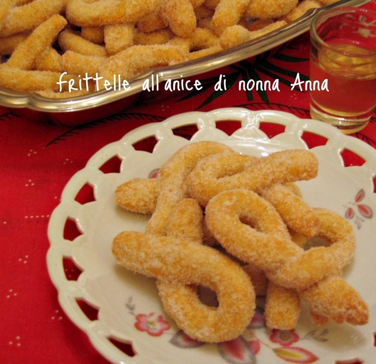 Il profumo delle madeleines: I dolci della memoria: le frittelle all'anice di nonna Anna