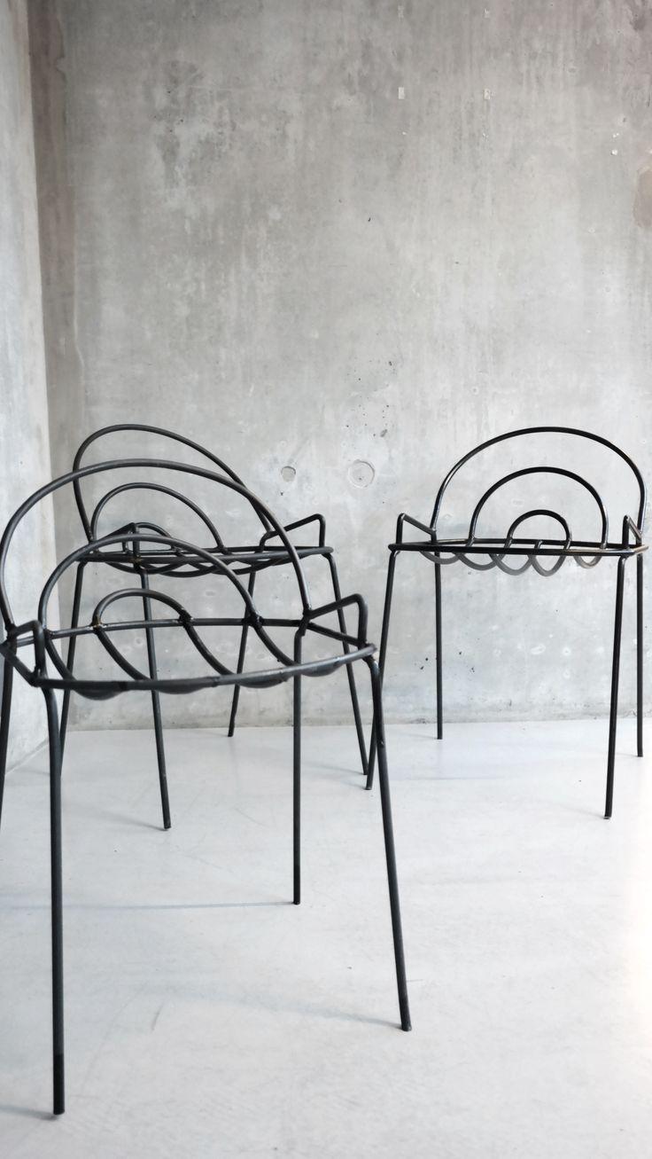 #Metalwork by Isabel Venneman 10 mm steel rod