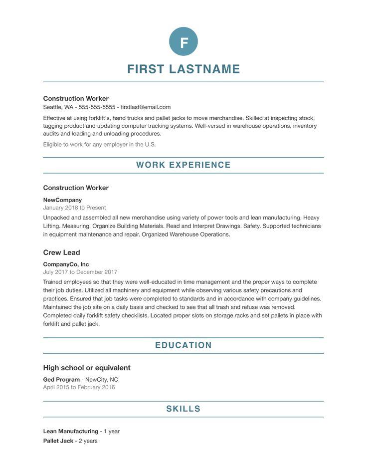 Resume Builder Online resume template, Best resume