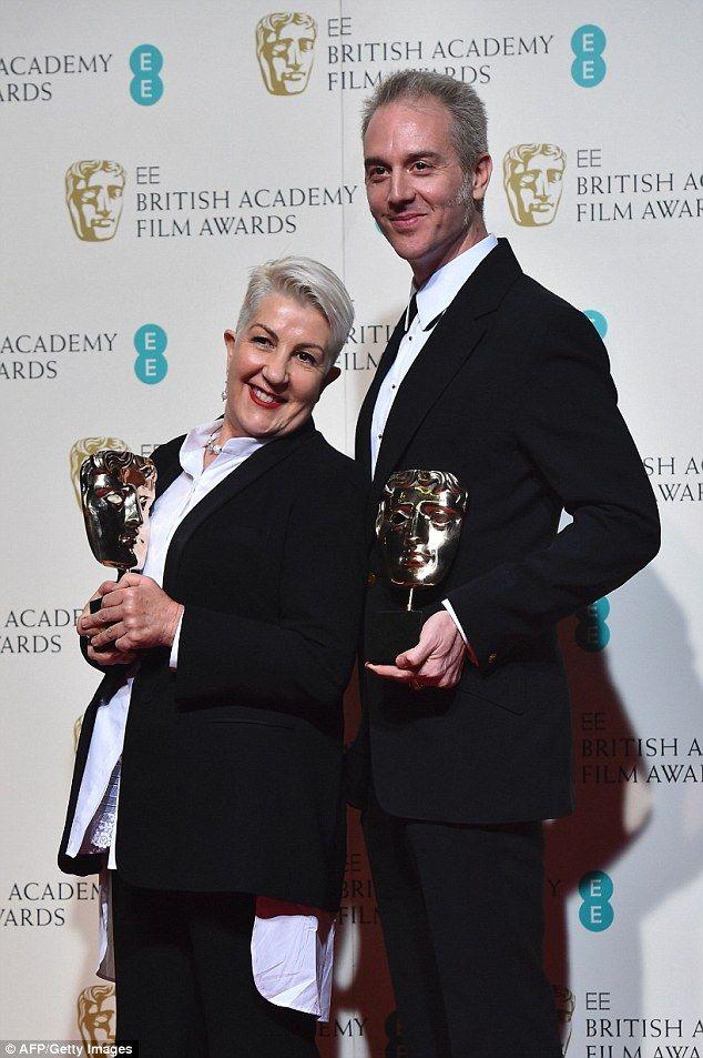 EE British Aademy Film Awards - Max Max: Fury Road - Winner Lesley Vanderwalt, (make-up artist) said the British film award was her heaviest trophy